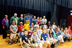 2017-11-01 3rd Grade Spelling Bee, Participants
