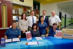 2017-11-01 3rd Grade Spelling Bee, Ready - Rotarians