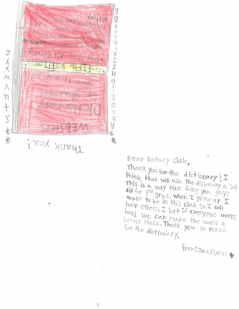 Thank You from 3rd Grade 02